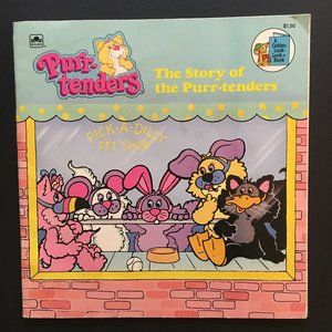 5/$25 VTG The Story of the Purr Tenders 80s Book